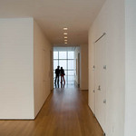 a photograph of the interior of the Museum of Modern Art - MOMA - in New York