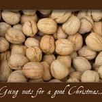 walnuts and a quote about christmas