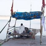 Relaxing On The Ganges