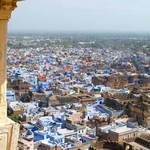 Blue Houses In Bundi