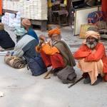 Pilgrims In Haridwar