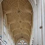 fan vaulting in the English perpendicular gothic style