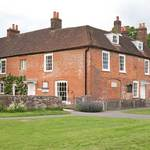 Chawton Cottage where Jane Austen Lived in the village of Chawton