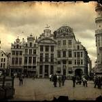 Building in the Grand Place - Brussels