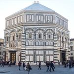 the octagonal baptistry in Florence