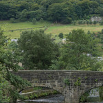 photo of a stone bridge over a river in the Yorkshire Dales