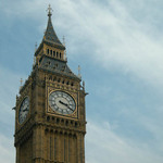 a photograph of Big Ben Clock Tower in London