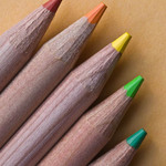 photo of several pencils of assorted colors.